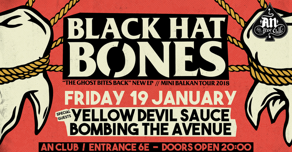 Black Hat Bones live at An Club