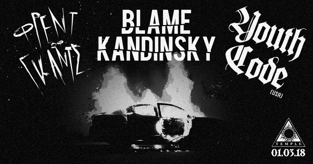 Blame Kandinsky, Youth Code, Friend of Gods shapeshifter.gr