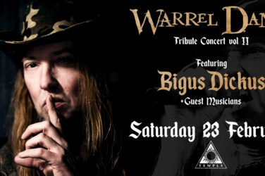 Warrel Dane tribute shapeshifter